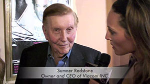 Sumner Redstone, owner and CEO of Viacom Inc.