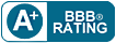 A rating from BBB (Better Business Bureau) for Ultra Trust irrevoable trust.
