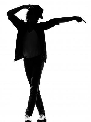 Michael Jackson dancing