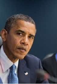 Obama Looking a Bit Befuddled by it All