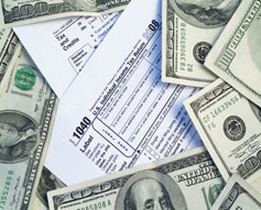IRS's Coffers full of cash